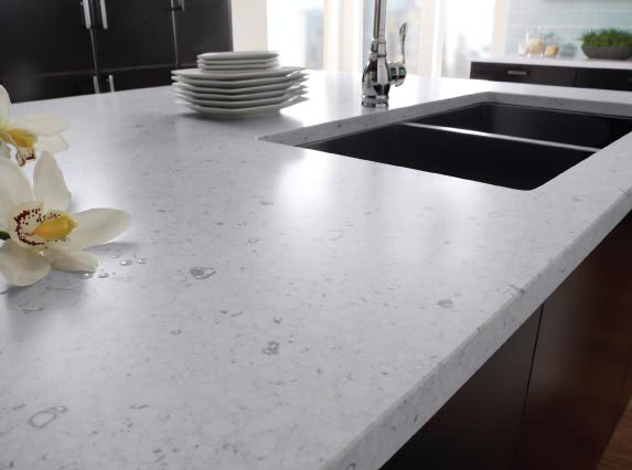 White wood wrapped up - Werkblad silestone ...