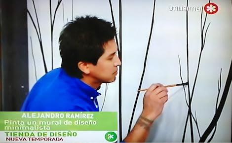 """MURALES PARA PROGRAMA """"TIENDA DE DISEÑO"""" CANAL FOXLIFE"""