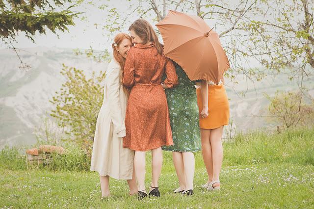 bridal picnic, addio al nubilato all'aria aperta