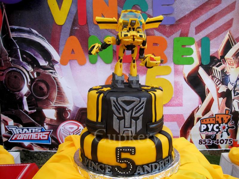 Transformers Bumblebee Cake By ShaiShai