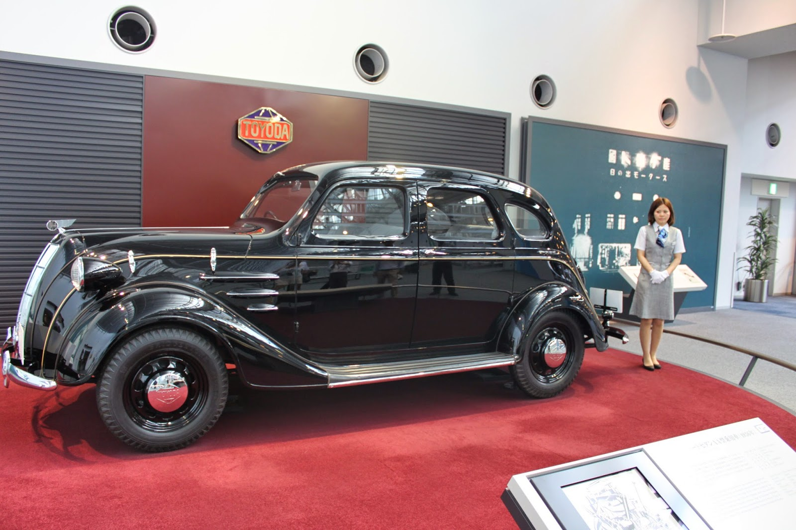 Toyoda Standard Sedan AA 1936