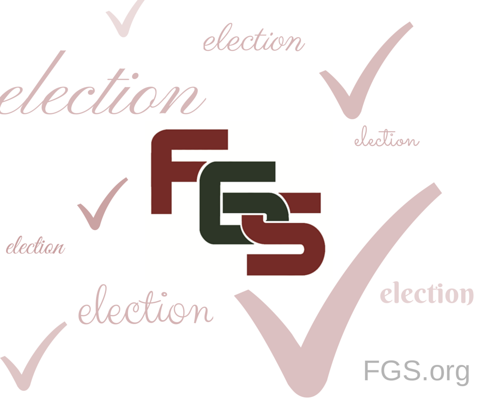 FGS 2014 Election Results via FGS.org #genealogy #gensocs