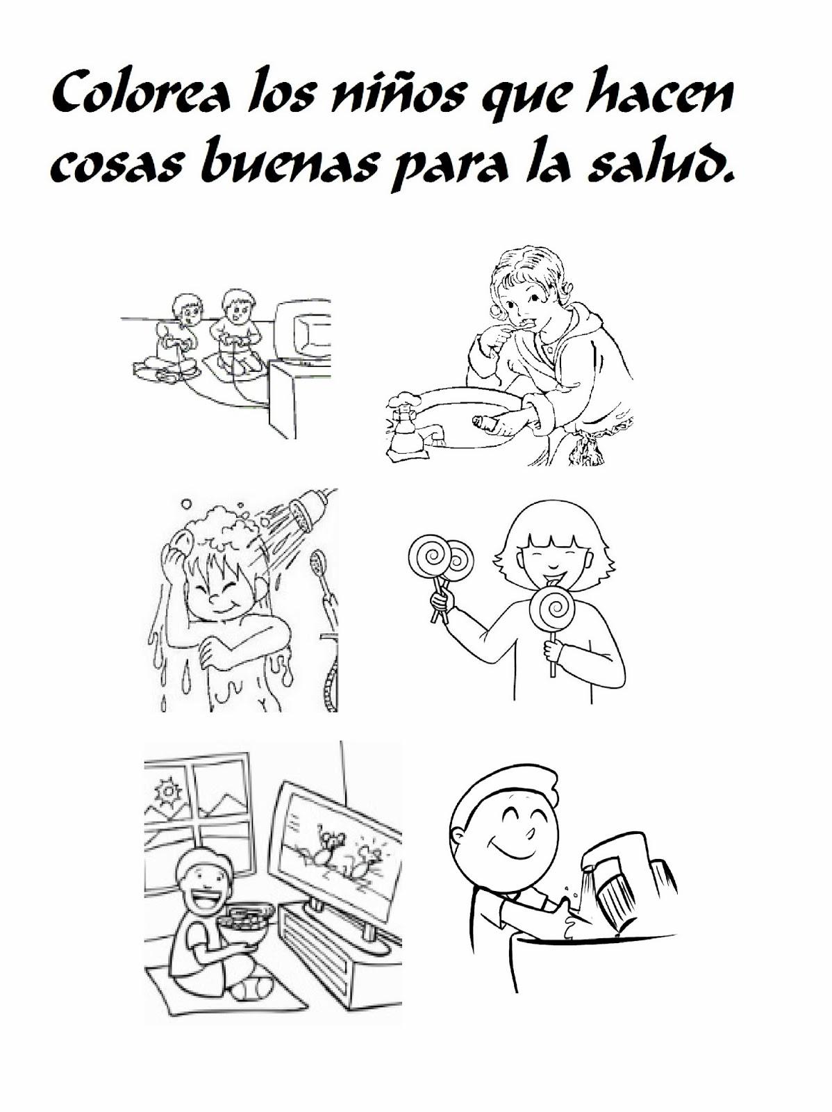 RECONOCER LOS HÁBITOS MÁS SALUDABLES. | WEB PEDAGÓGICA INFANTIL