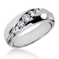 Diamonds Wedding Bands