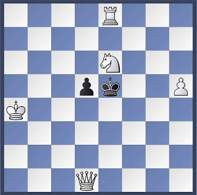 chess, chess problem, mate in 3