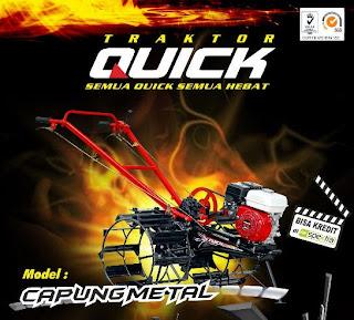 Harga/Spesifikasi traktor tangan Quick