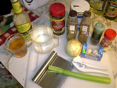 Court-Bouillon Ingredients