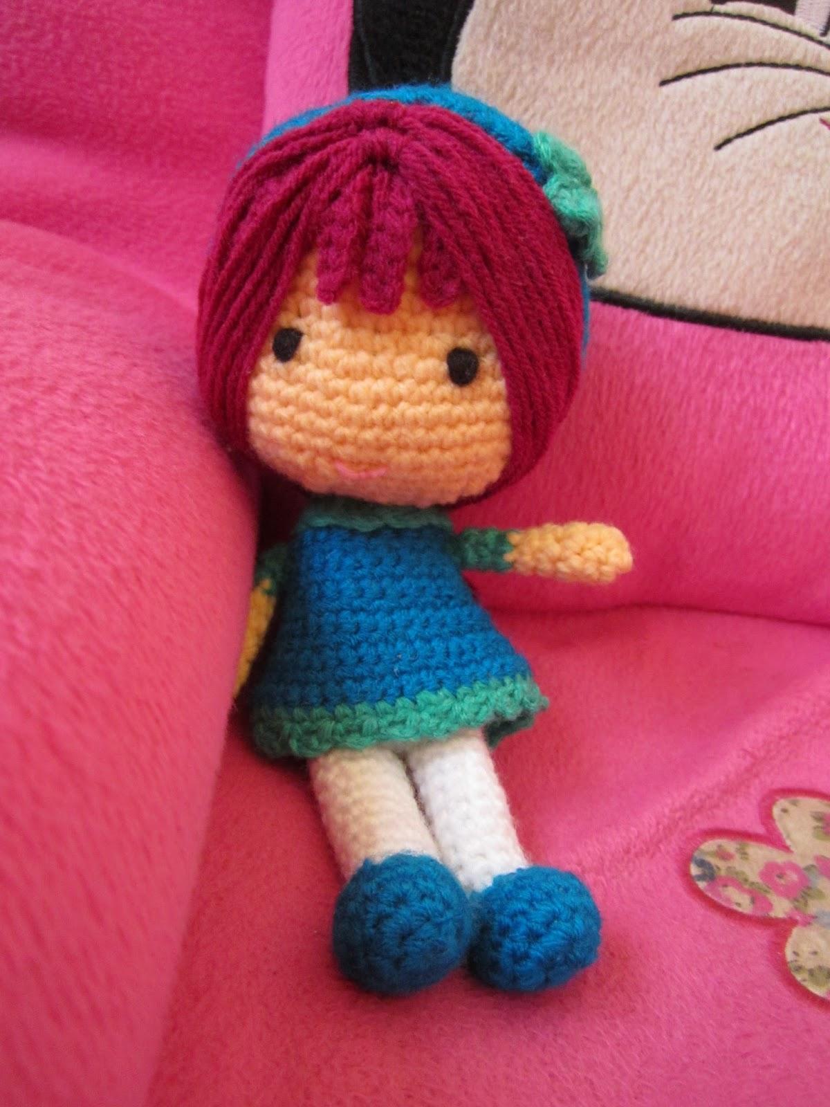 Amigurumi Hair Patterns : A little love everyday!: Amigurumi doll..