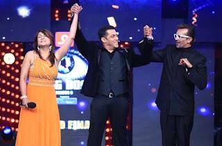 Bigg Boss Season 6 Winner : Urvashi Dholakia