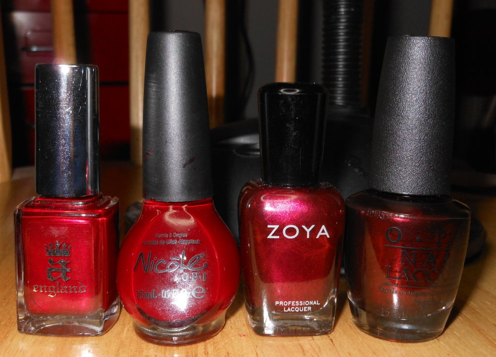 ... Perceval, NOPI Sealed with a Kris, Zoya Bliar, and OPI German-icure