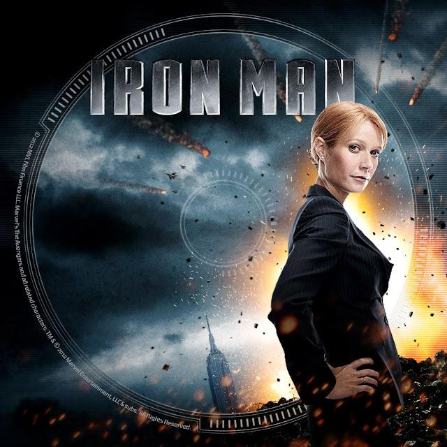 Label DVD/Bluray Iron Man