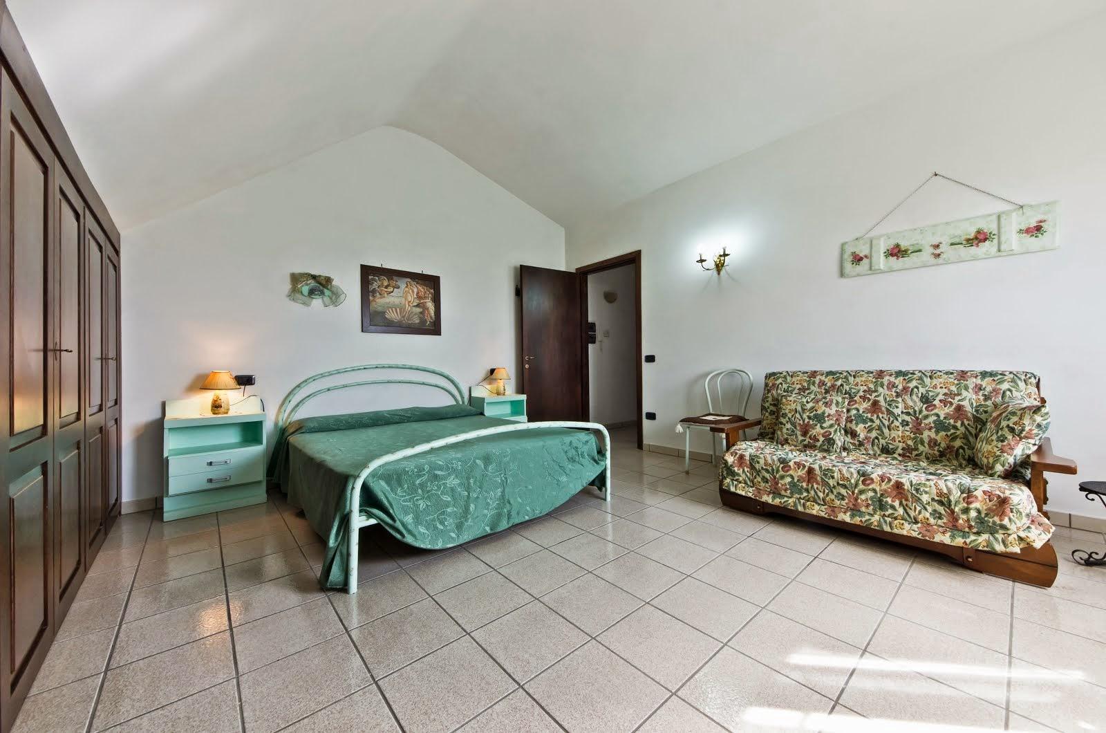 La Mansarda - camera matrimoniale