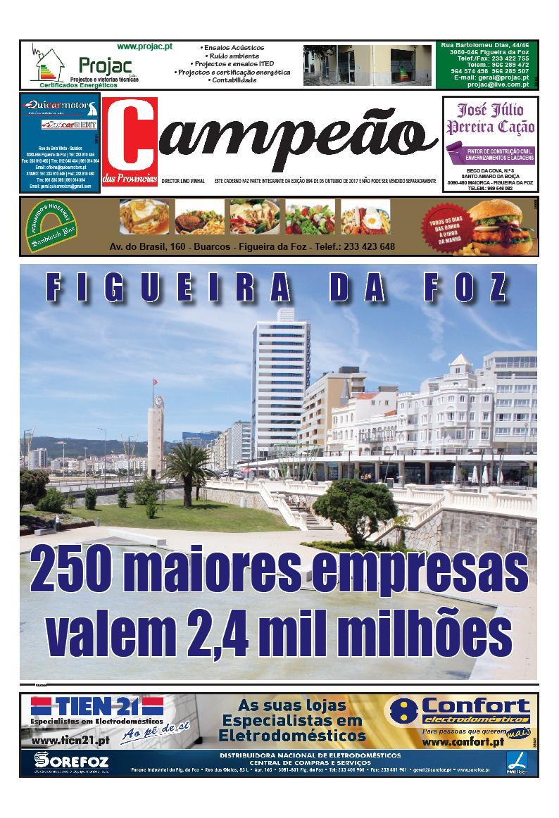 Especial 250 maiores empresas da Figueira da Foz