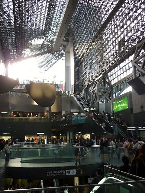stazione dei treni, kyoto