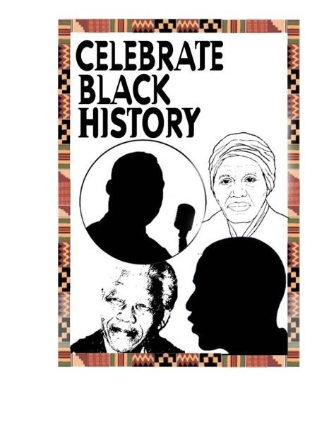 Printable Puzzles, Coloring Pages, and Worksheets for  - black history month coloring pages