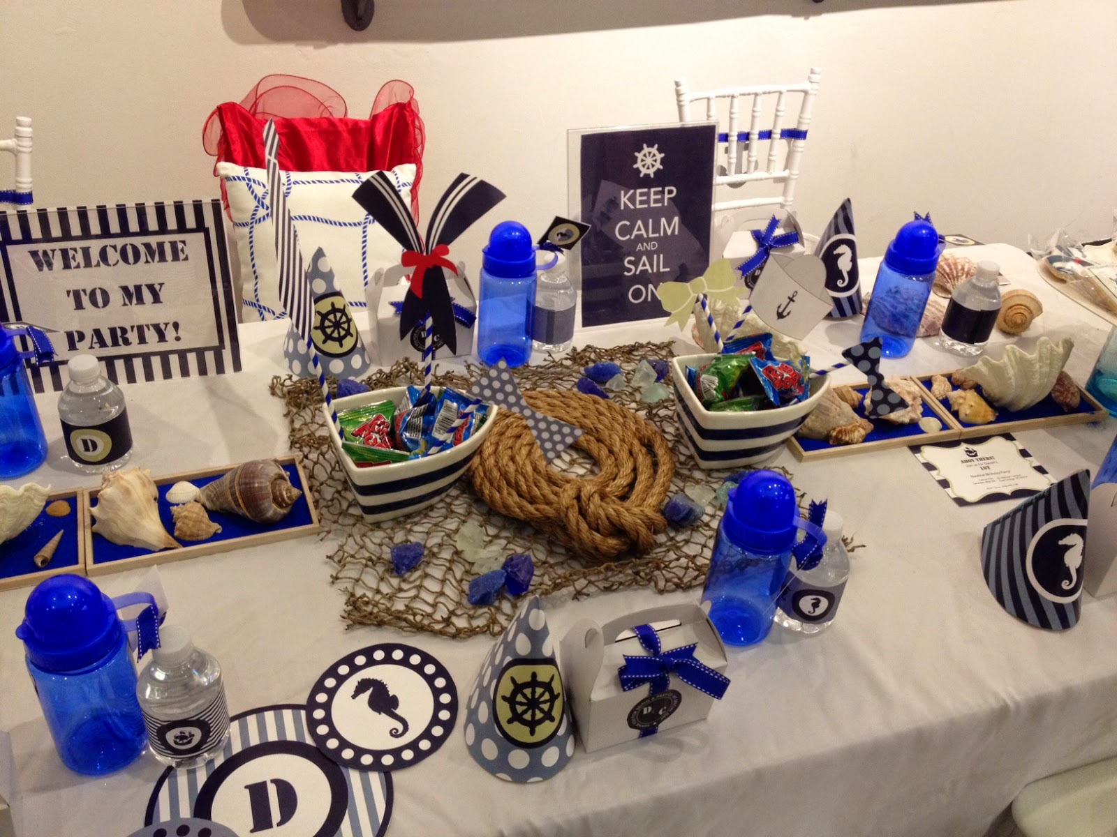 When Tara Met Blog A Nautical Baby Shower