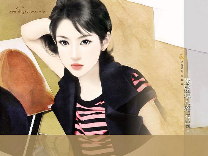 Sweet chinese girls painting smilecampus sweet chinese girls painting voltagebd Image collections