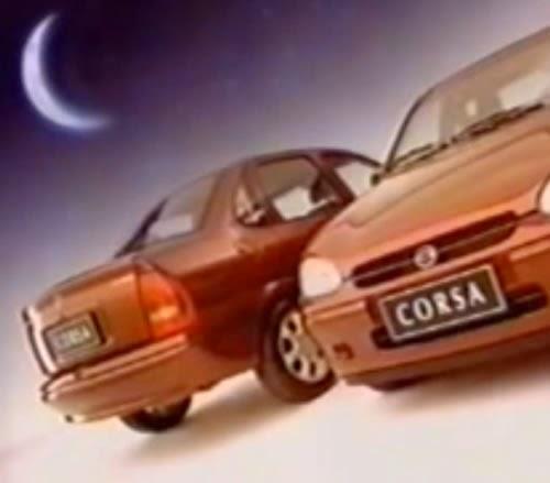 Propaganda do Corsa Sedan (Chevrolet) para o ano de 1999.