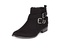 Autumn black Ankle Boots