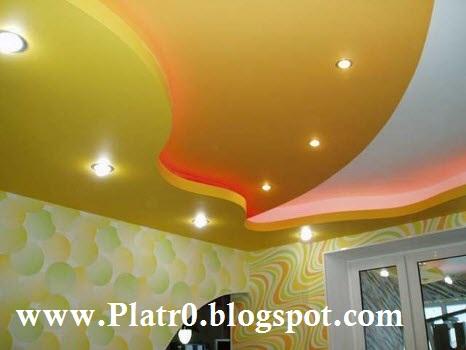 Décoration Platre Maroc - Faux Plafond Dalle-arc platre
