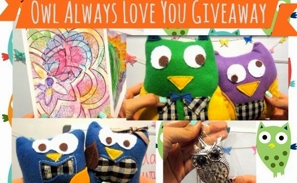 Owl themed Giveaway
