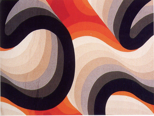 Barbara Brown. Textile Design. Galleria (detail)