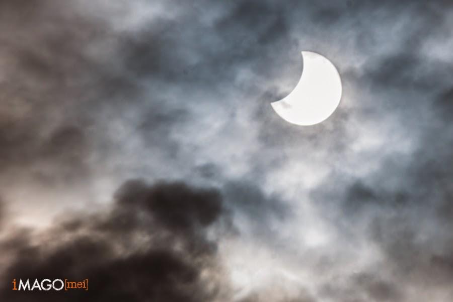 Eclipse solar desde Barcelona