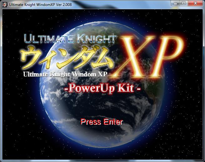 Ultimate Knight Windom XP Original Installer Downloads