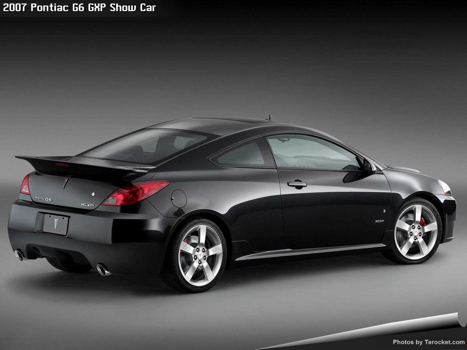 Hình ảnh xe ô tô Pontiac G6 GXP Show Car 2007 & nội ngoại thất