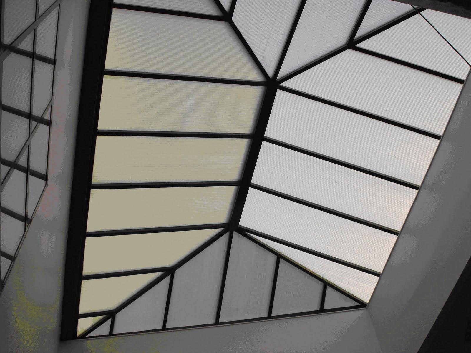 Tejados especiales para edificios tejados de naves y for Como hacer una estructura metalica para techo