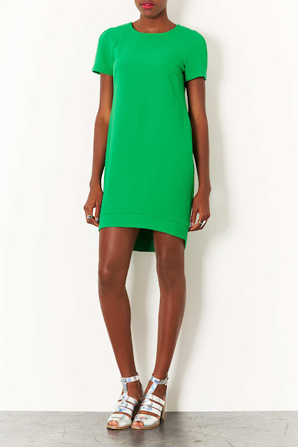 green tee dress