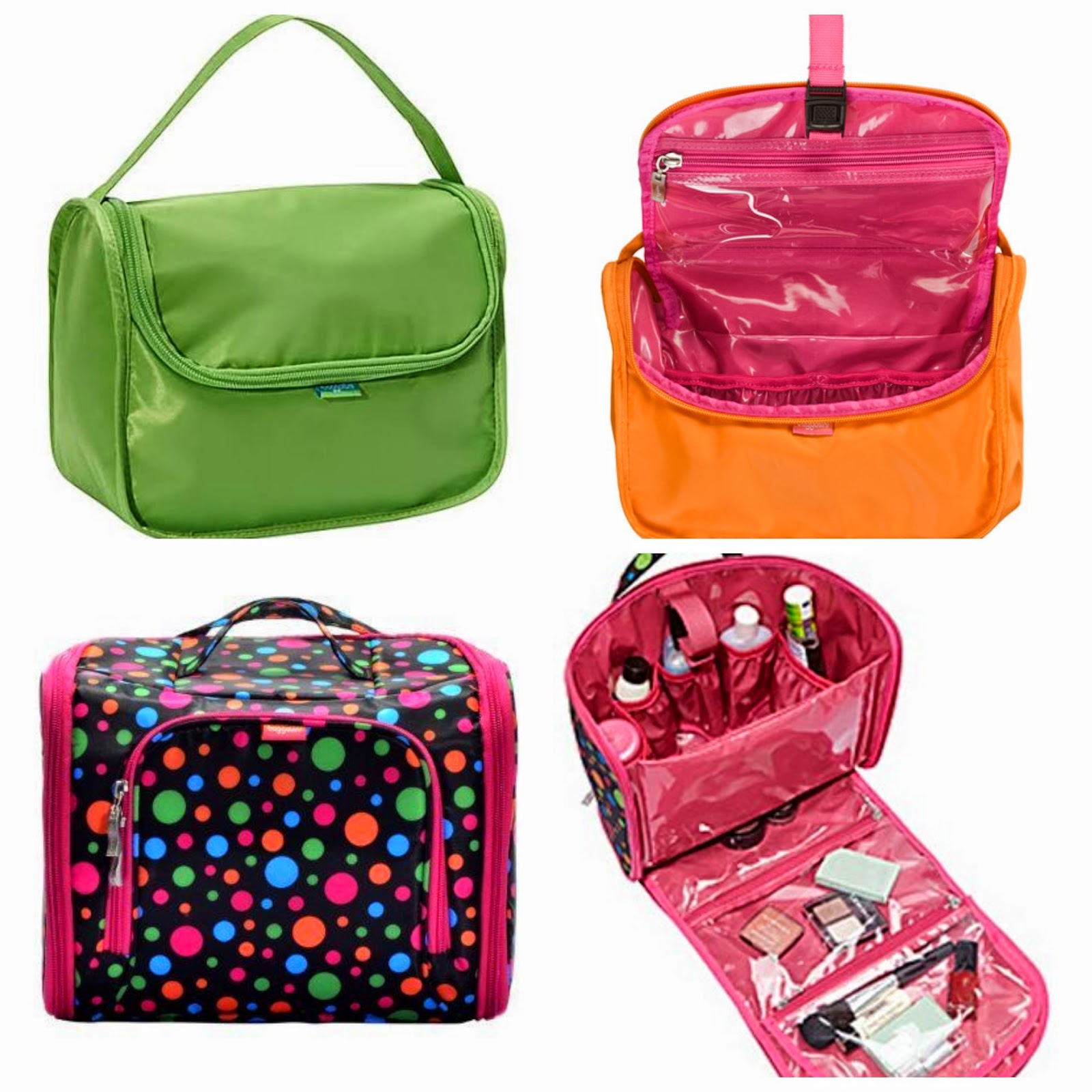 Baggallini Full Cosmetic Kit Or Grooming Bag