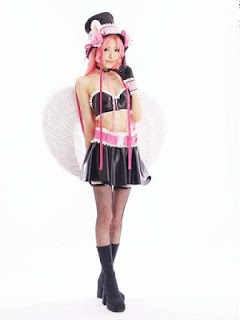 Hinoki Sakurai Cosplay as Meroko Yui From Full Moon o Sagashite