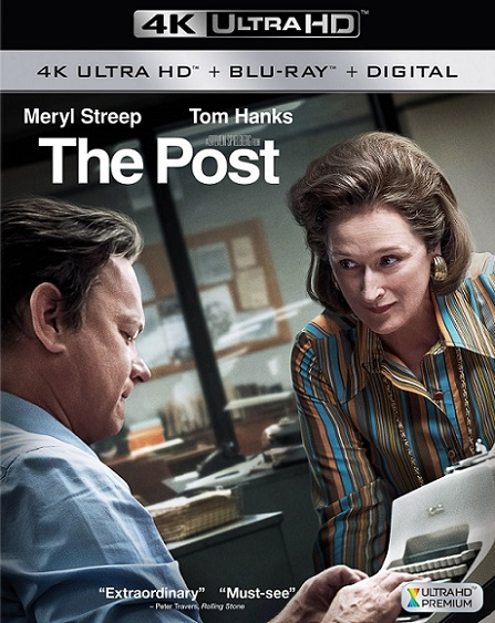 The Post 4K (Los archivos del Pentágono/Los oscuros secretos del Pentágono 4K) (2017) 2160p 4K UltraHD HDR BluRay REMUX 55GB mkv Dual Audio DTS-HD 7.1 ch