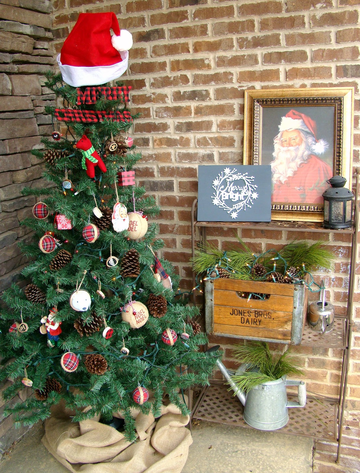 This Is The First Year Ive Done Much Decorating For Christmas On Porch As Well Lights In Bushes Out Front