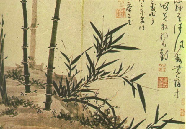 Wu Chen bamboo painting