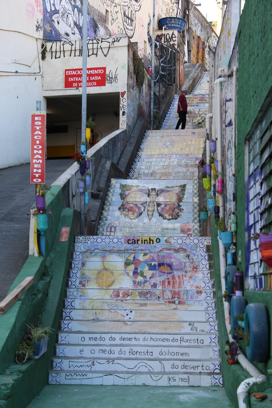 Escadaria do Patápio, Vila Madalena- SP 2015