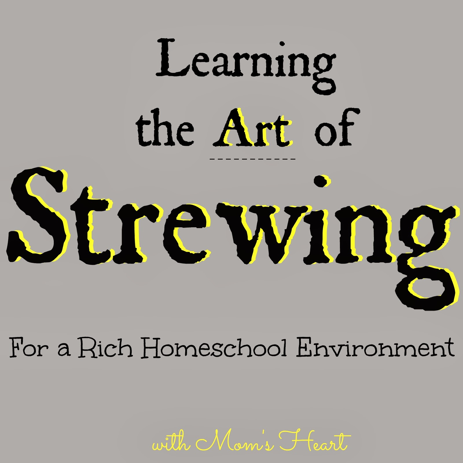 strewing