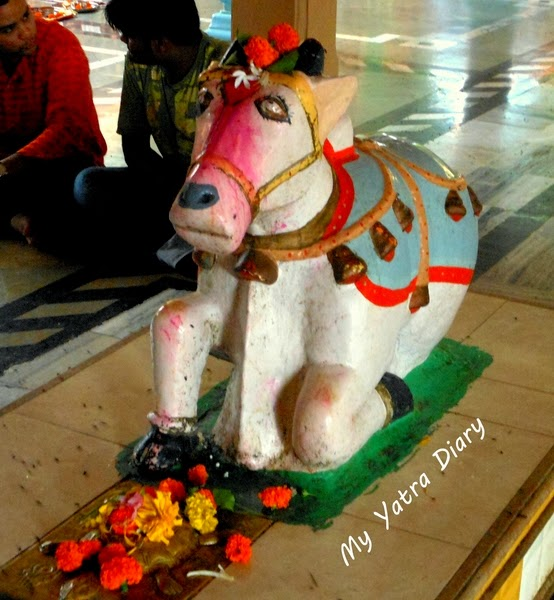 Nandi Bull of ancient Tungareshwar temple in Mumbai