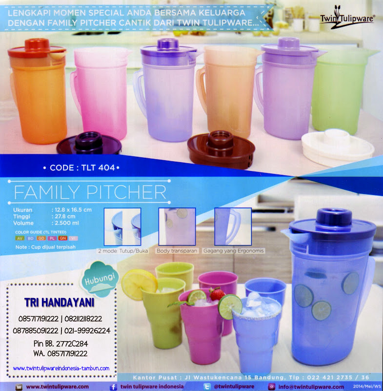 Family Pitcher - Produk Baru - New Product 2014