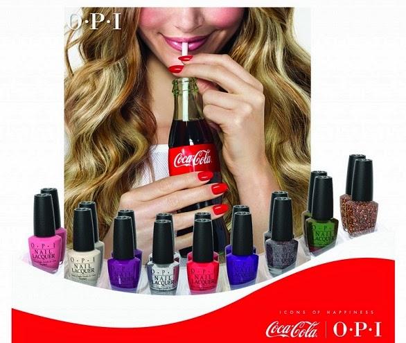 Esmaltes Coca-Cola OPI