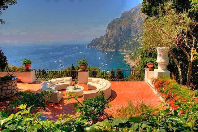 The Capri Garden in Italy