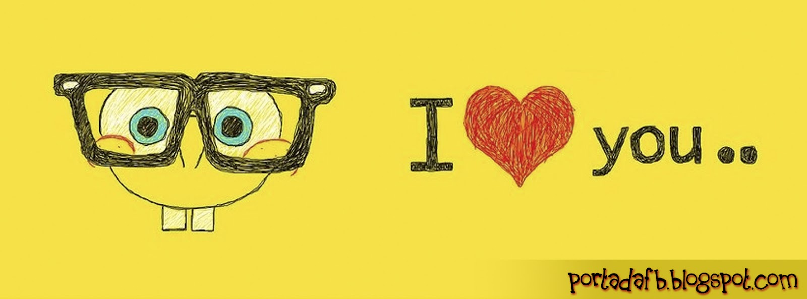 PORTADA PARA FACEBOOK - I LOVE YOU