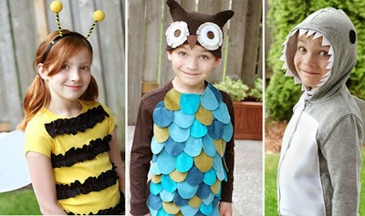 why have to waste money on costly costumes at stores while you can make cheap and - Homemade Halloween Costumes Ideas For Kids