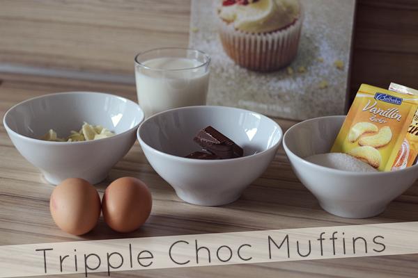 Tripple Choc Muffins Rezept