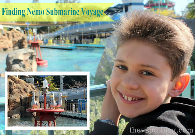Disneyland, Finding Nemo, Submarine ride, voyage, Seagulls, Mine, ride