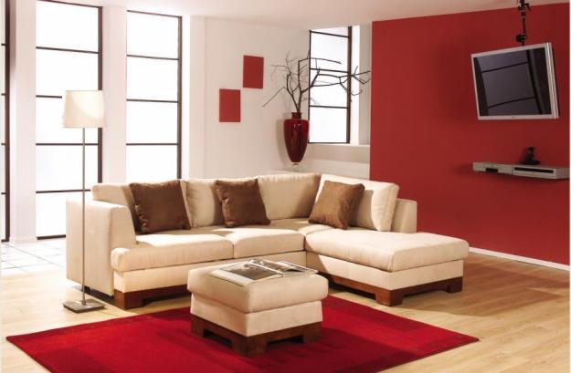 Decoraci n minimalista y contempor nea decoraci n con for Casa minimalista rojo