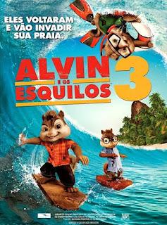 Assistir Alvin e Os Esquilos 3 Dublado Online HD