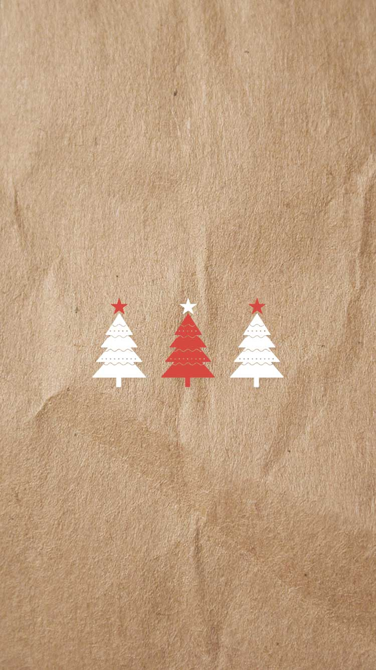 Be linspired holiday themed iphone 6 6s wallpaper free for Minimalist christmas