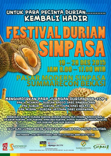Festival Durian Sinpasa – Bekasi
